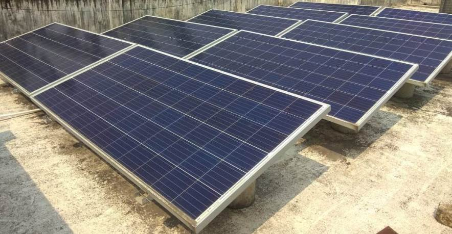 3 Kw Grid Single Phase Solar Power Plant With Ballast